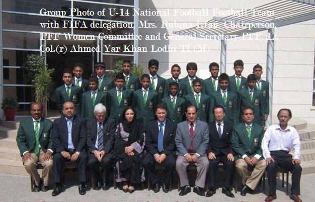 Pakistan U-14 National Football team left to Japan