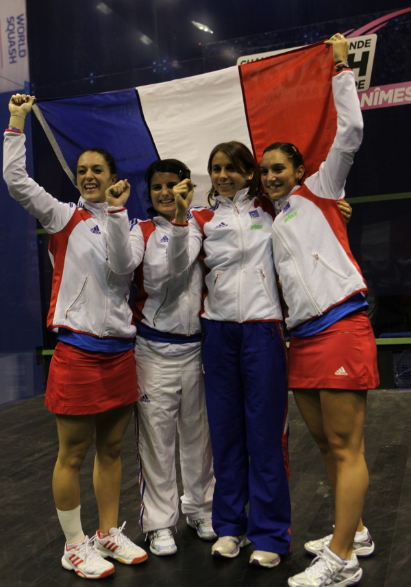 France finishes on top in World Championship pool