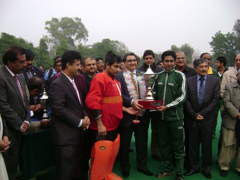 PIA wins the NBP Gold Cup Hockey Tournament