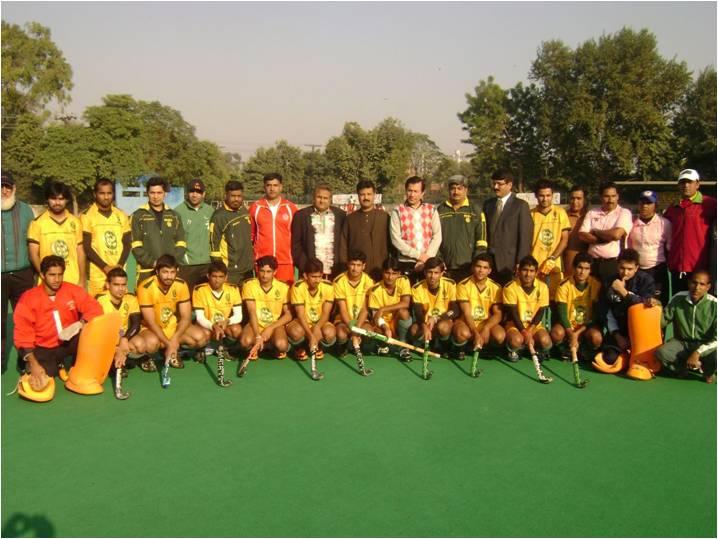 NBP Gold Cup Hockey Tournament 2012, kick off