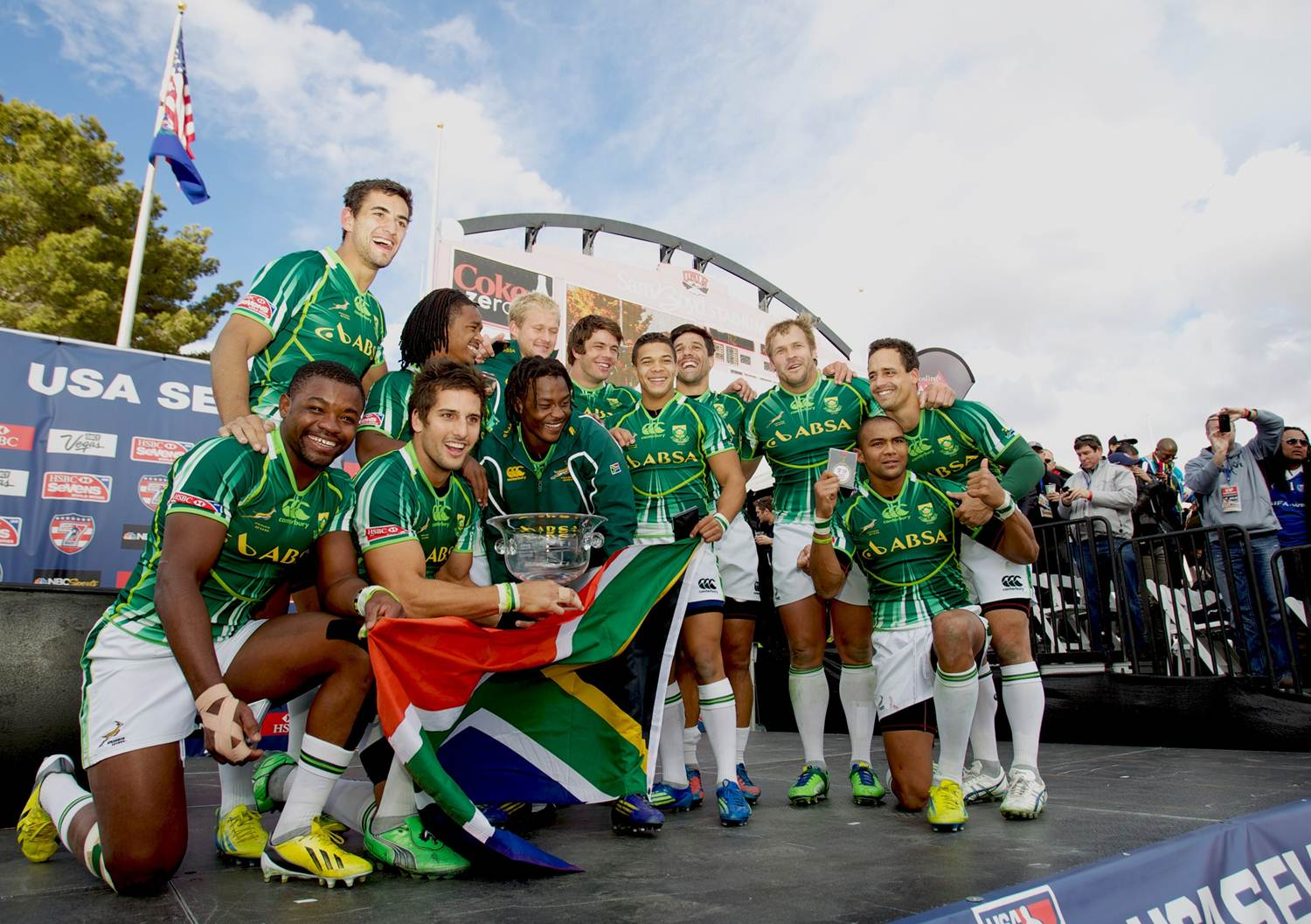 South Africa storm to USA Sevens Cup title