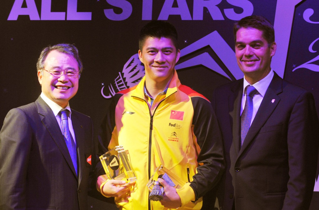 Chinese Players In spotlight on BWF Awards