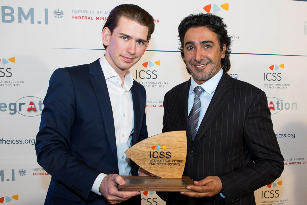 Leading figures in sport at ICSS Summit