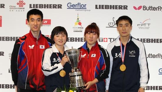 DPR Korea Wins a Historic Mixed Doubles
