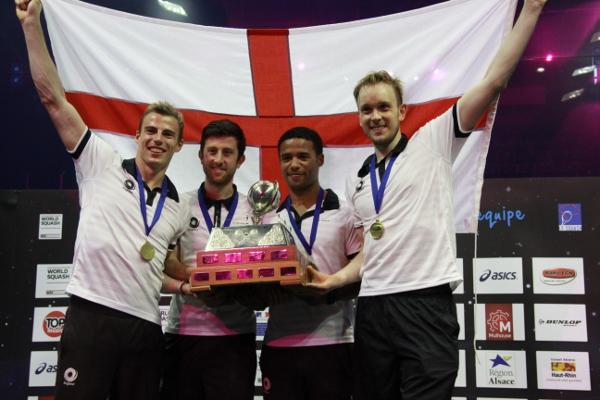 England Upset Title-Holders Egypt