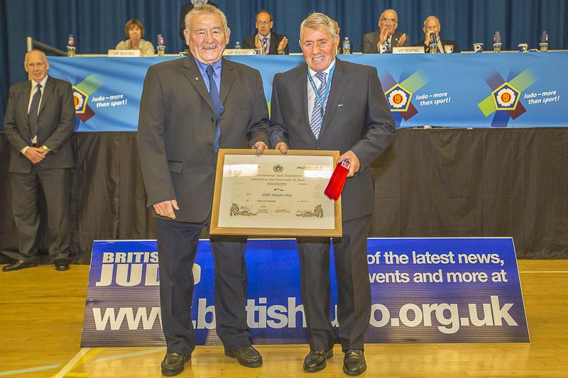 British Judo luminaries promoted to 9th Dan