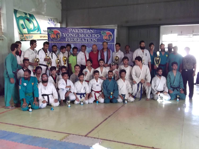 Grand Master Kim Byung Chun Yong Moo Do Cup
