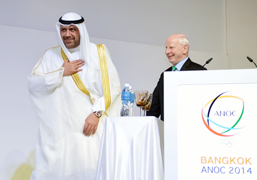 Sheikh Ahmad elected unopposed as ANOC President for 2014-2018