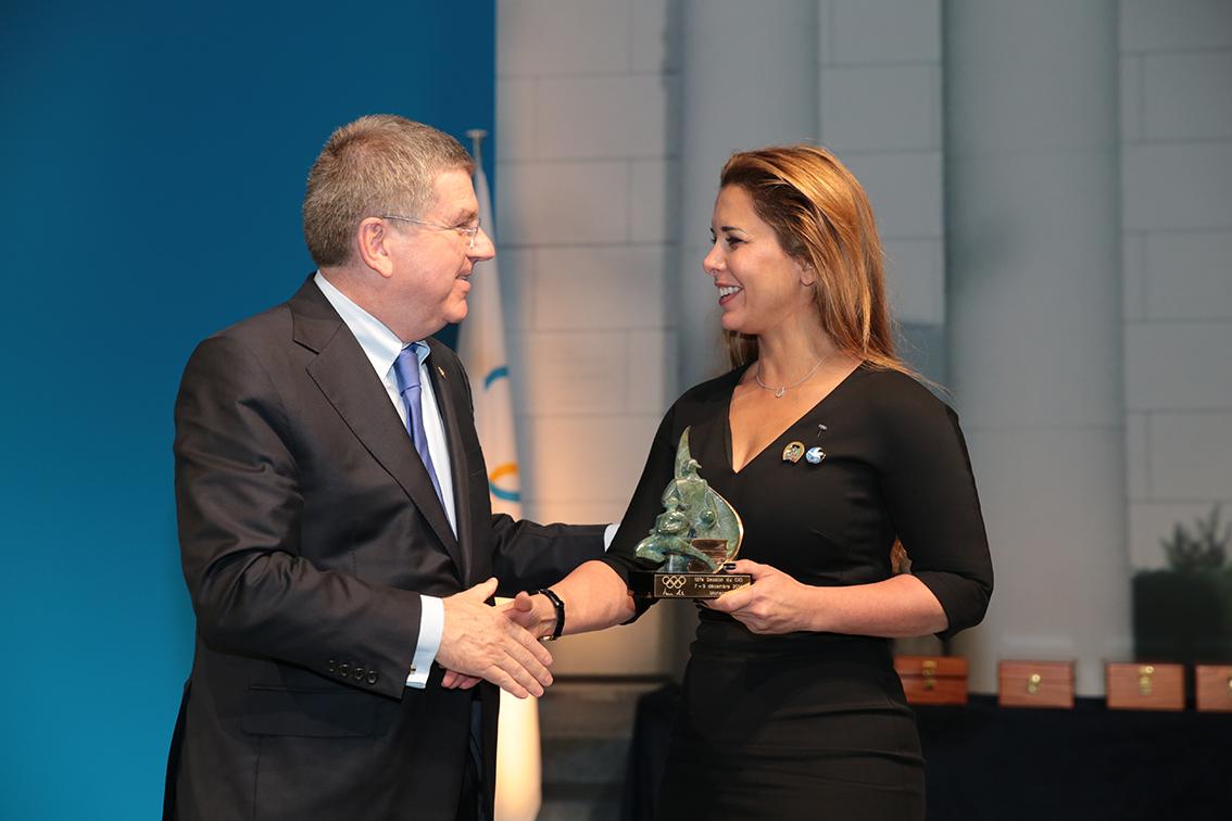 IOC President pays tribute to FEI President HRH Princess Haya