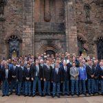 EDINBURGH, SCOTLAND - JUNE 29: Members of the ICC Council pose for a photograph at the Scottish National War Memorial at Edinburgh Castle on June 29, 2016 in Edinburgh, Scotland. (Photo by Mark Runnacles-IDI/IDI via Getty Images) ***Local Caption***