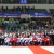 North and South Korean athletes together at IIHF Women's World Ice Hockey Championship in PyeongChang
