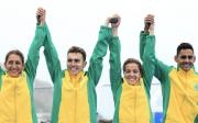 Brazil command mixed relay