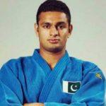 Olympian Shah Hussain Shah