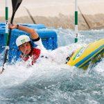 Kazakhstan Olympic slalom